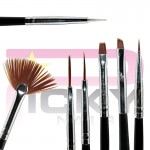 Kit 15 NailArt Brushes