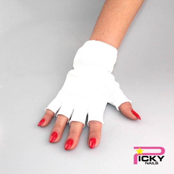 2 pieces UV lamp gloves