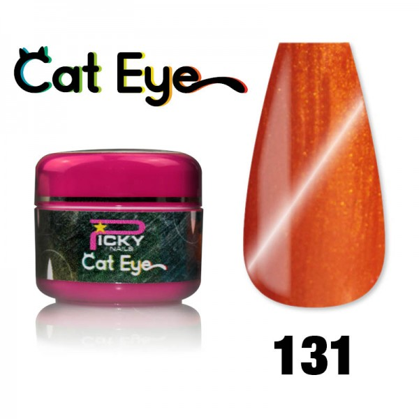 Gel Cat eye UV Magnetic 5ml Lobster Orange