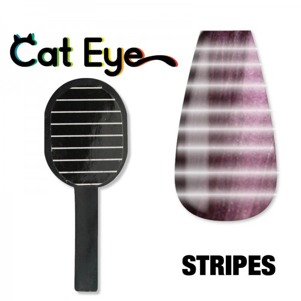 Stripes Magnets for Cat Eye Metallic Gel