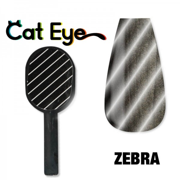 Zebra Magnets for Cat Eye Metallic Gel