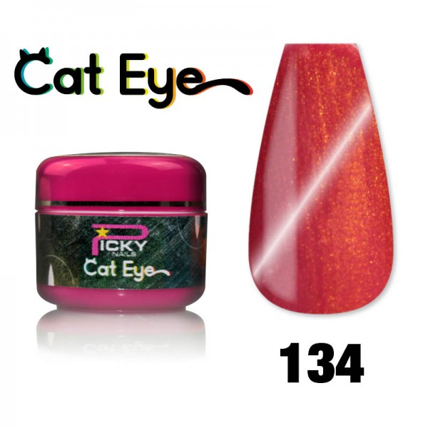 Gel Cat eye UV Magnetic 5ml Fire Red