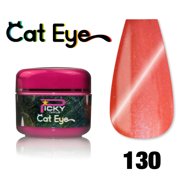 Gel Cat Eye Uv Magnetici 5ml Arancio Aragosta Gce 131