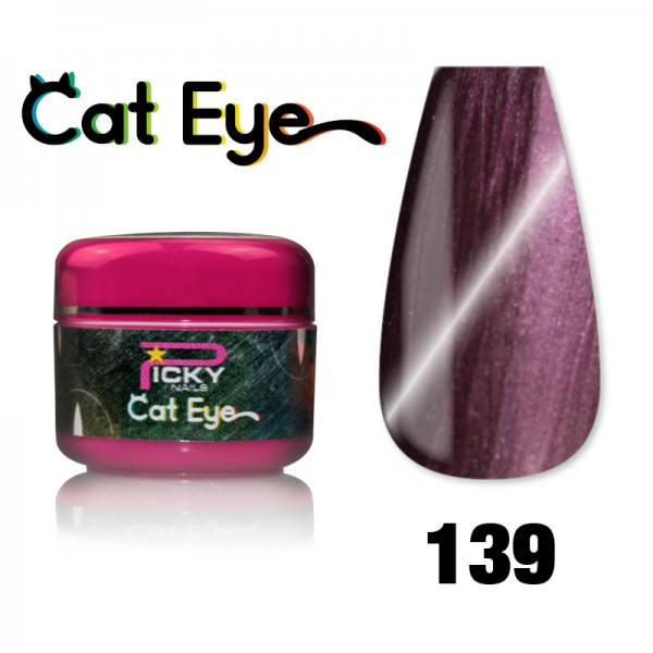 Gel Cat eye UV Magnetic 5ml Plum Violet