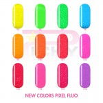 Heavy Green PIXEL Fluo Picky Nails Uv Gel