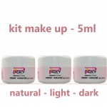 NEW KIT 3 COVER MAKE-UP  Uv Gel Camouflage 5ML