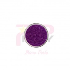Violet  micro pearls caviar effect for nail art decorations