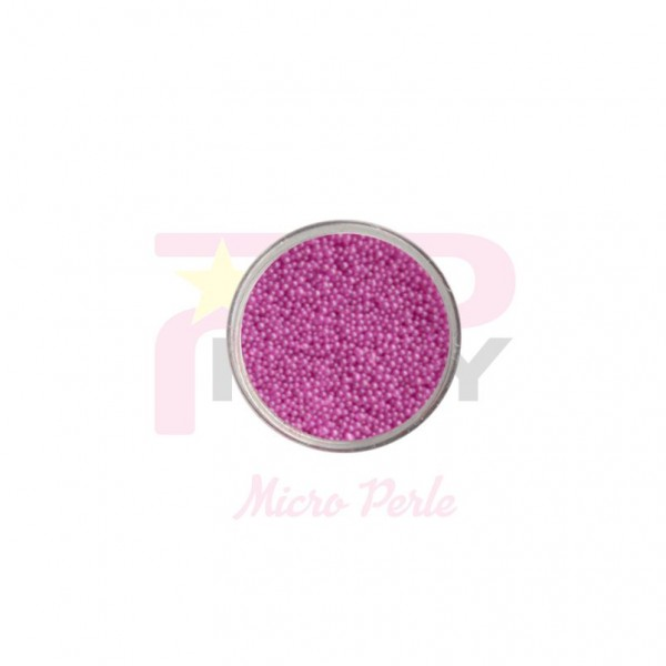 Barbie rose micro pearls caviar effect for nail art decorations