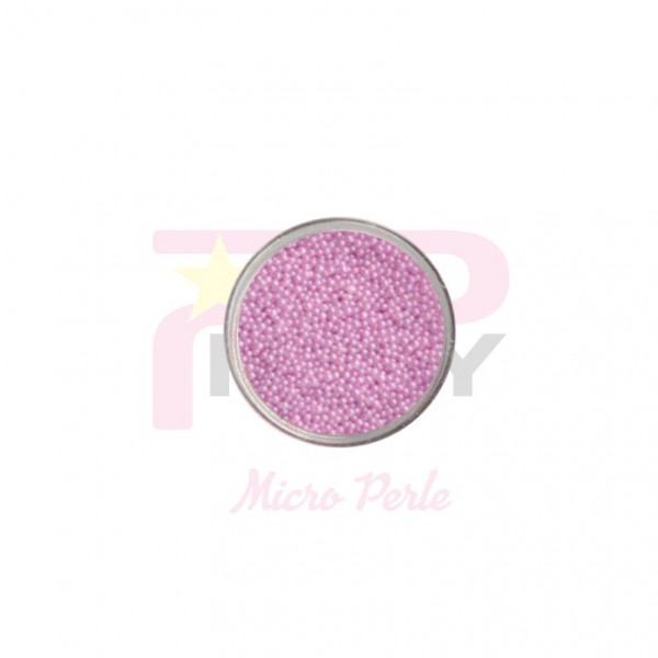 lilac lavender micro pearls caviar effect for nail art decorations