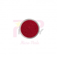 Red passion  micro pearls caviar effect for nail art decorations