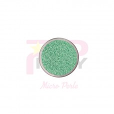 Green ligth  micro pearls caviar effect for nail art decorations