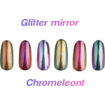 Powder glitter holographic laser 06
