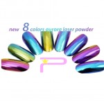 Mermaid Chrome  Aurora Powders 08