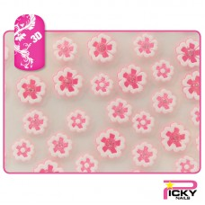 Nail Art 3D Stickers - Paper Flowers