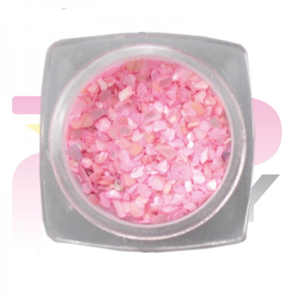 Nacre Jar Rose Nail Art Decorations