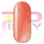 Astrel Coral Glitter Gel Nail Polish Picky Nails
