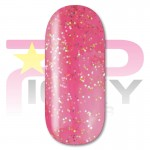 Crazy Pink Glitter Gel Nail Polish Picky Nails