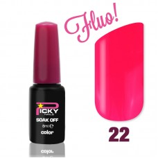 Pink Fluo 8 ml Gel Nail Polish Picky Nails
