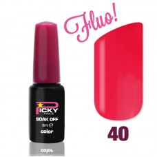 Fucsia Fluo 8 ml Gel Nail Polish Picky Nails