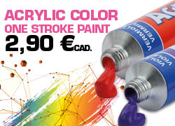 one stroke painting colors nail art