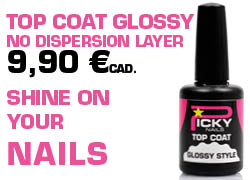 top coat glossy no dispersion layer